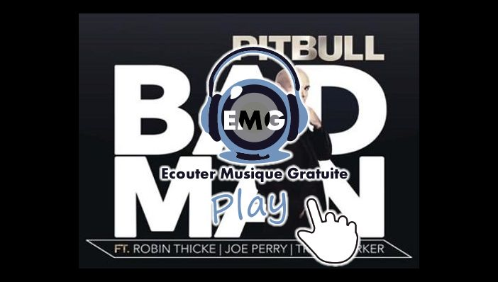 Pitbull Bad Man feat Robin Thicke & Joe Perry, Travis Barker